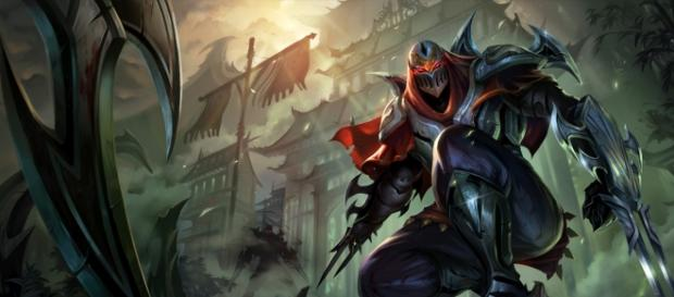 Zed, campeón de League of Legends.
