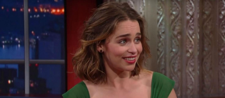 Emilia Clarke diz que cenas de nudez de Game of Thrones