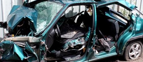 Estado em que ficam as viaturas prova a violência do choque