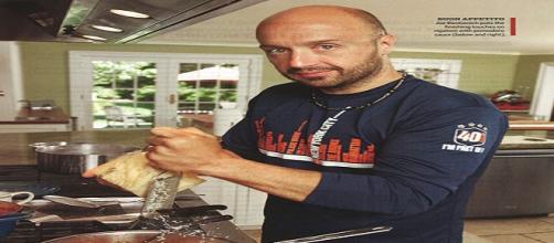 Joe Bastianich nella sua cucina