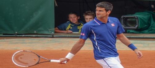 Novak Djokovic at 2013 Roland Garros/ Photo: Yann Caradec (Flickr) CC BY-SA 2.0