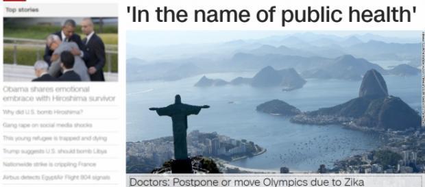 """""""Em nome da saúde pública"""", diz manchete de capa da CNN"""