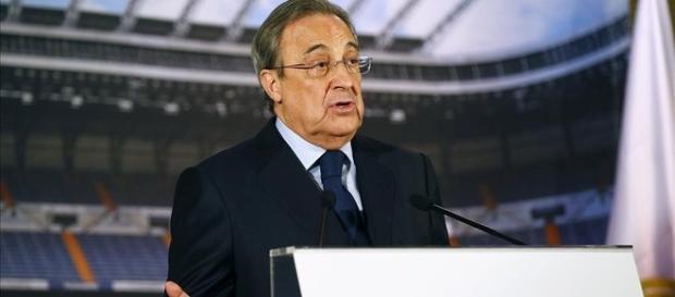 Florentino Pérez como presidente del Real Madrid