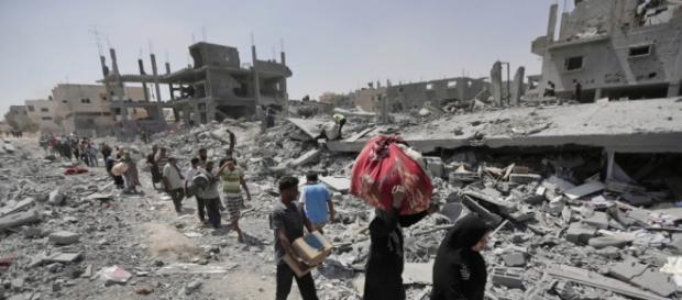 La ciudad ha sido atacada con tanques y coches bomba