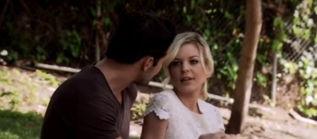 Maxie and Nathan together from an YouTube video
