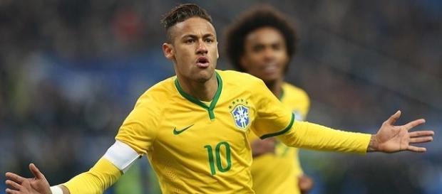 Neymar Rio 2016 - seleção brasileira
