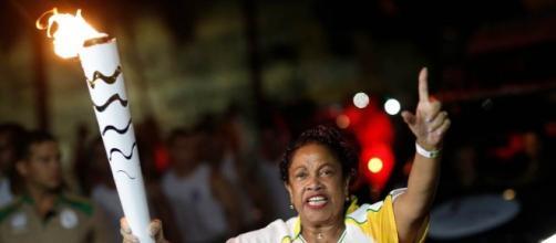 A chama olímpica chega a Alagoas