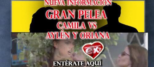 Camila contra Oriana y Aylén...