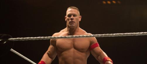 John Cena at a house show in January 2015 (Photo by Anton Jackson/Flickr)