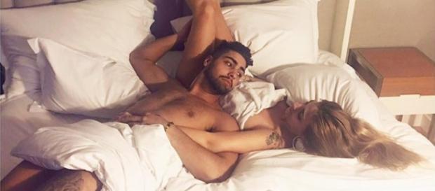 Daniel e Liliana publicaram esta fotografia nas redes sociais