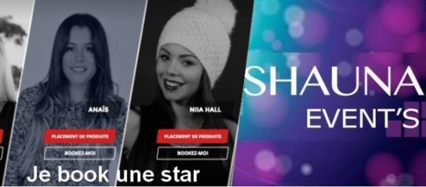 Je book une star et Shauna Event's sont deux agences événementielles produisant des candidats de télé-réalité.