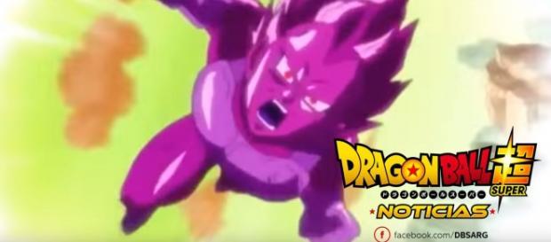 La copia de Vegeta ataca a Goku en el proximo episodio