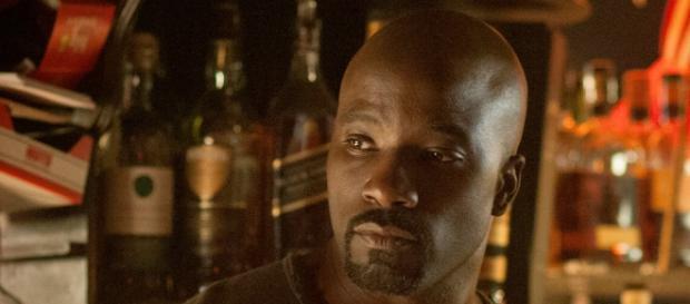 "Luke Cage at his bar in Hell's Kitchen [image via Netflix/""Marvel's Jessica Jones""]"
