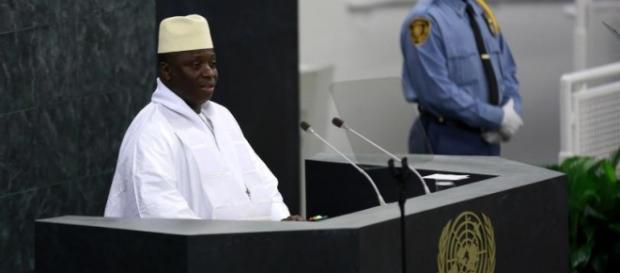 President Jammeh addressing UN General Assembly / Sulayman Gassama, statehouse.gov.gm