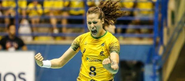 A seleção brasileira de handebol foi campeã mundial, em 2013