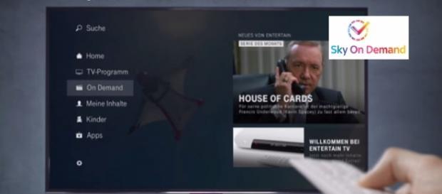 Sky-Serie wird auf dem neuen Entertain-Receiver den Telekomkunden angeboten.