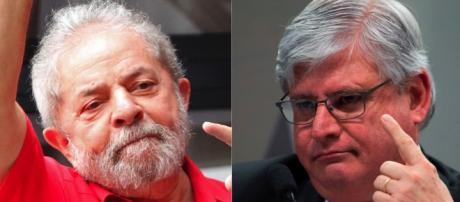Lula e procurador da república Rodrigo Janot