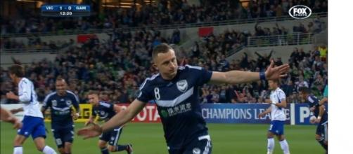 Football: The Melbourne Victory have started fast in their Asian Champions League match against Gamba Osaka - Imagem Fox Sports
