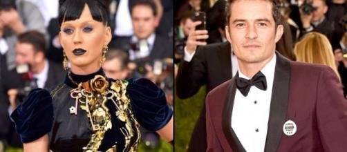 Katy Perry e Orlando Bloom - Met Gala 2016