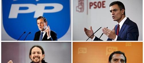 Rajoy (PP) vs Pablo Iglesias (Podemos)