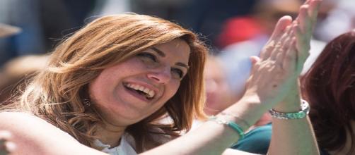 Susana Diaz se burla de Podemos de una forma despreciable