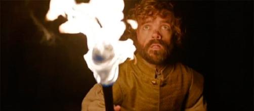 Tyrion visita a los dragones en 'Home'
