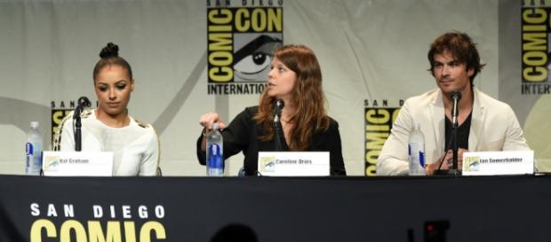 Kat Graham e Ian Somerhalder al Comicon