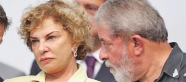 Marisa Letícia e Lula - Imagem/Google
