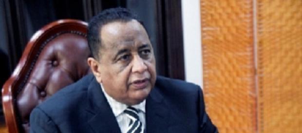 Sudan's Foreign Minister Ibrahim Ghandour / Photo via Diasporium News