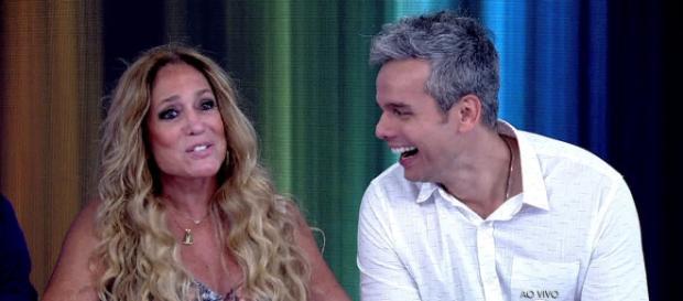 Susana e Otaviano Costa continuam se divertindo na bancada