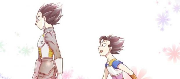 Vegeta y Kabe entrenarán juntos