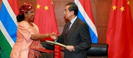 Gambia resuming diplomatic relations with China became a blow to Taiwan / Sam Phatey, SMBC NEWS