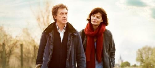 Cartel de 'Un doctor en la campiña' con los dos protagonistas.