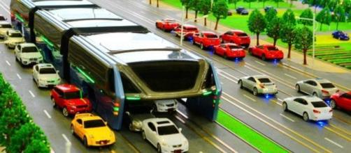 Fotografía de futuro TEB (Transit Explore Bus)