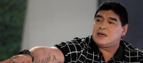 L'ex calciatore argentino Diego Armando Maradona.