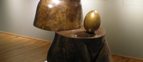 Venus espacial, Salvador Dalí, fundida en 1984