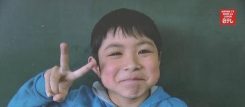 Yamato Tanooka é aluno do segundo ano do ensino fundamental