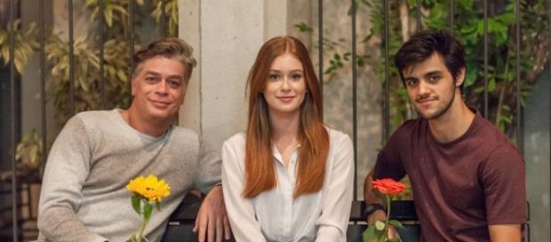 Arthur, Eliza e Jonatas (Foto: Artur Meninea/Globo)