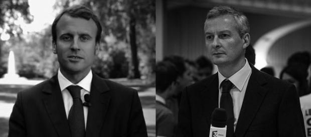 Emmanuel Macron et Bruno Lemaire