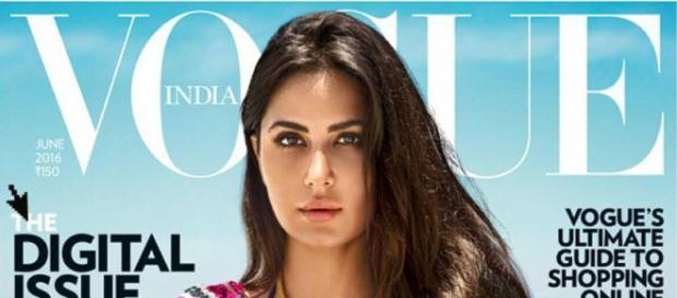 Katrina Kaif on the cover page of Vogue 2016 (Twitter)