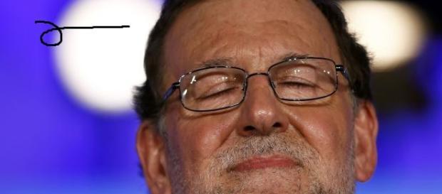 Mariano Rajoy en un acto público.