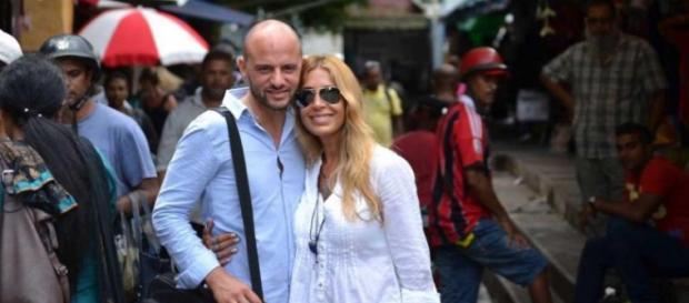 Olivier e Cláudia casaram em outubro nas Ilhas Maurícias