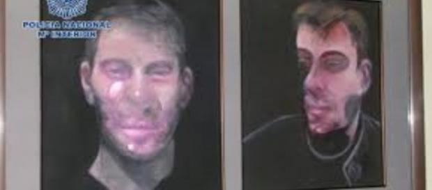 Recently stolen Francis Bacon paintings