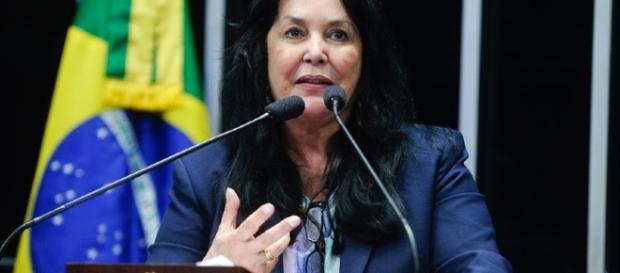Senadora votou a favor da abertura do processo de impeachment (Marcos Oliveira/Agência Senado)