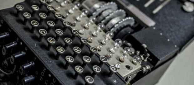 Uno degli esemplari della macchina Enigma