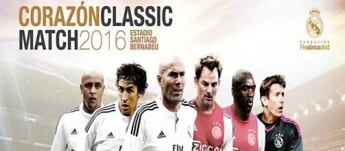 Corazón Classic Match 2016, el domingo 5 de Junio