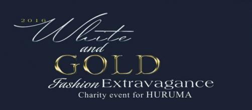 Event flier for the White and Gold Fashion Extravagance. Copyright 2016 Hot Commodity Inc. Used with permission.