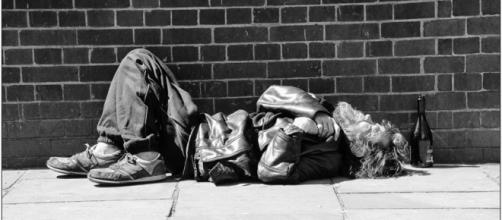 Homeless. Passed by / photo by Maureen Barlin, cc via Flickr