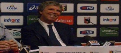 Il patron del Genoa, Enrico Preziosi