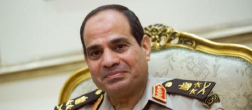 Il presidente egiziano, Abd Al Fattah Al Sisi